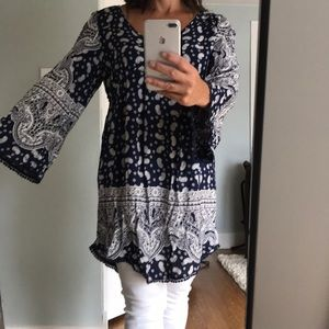 Anthropologie Brand bandanna style dress